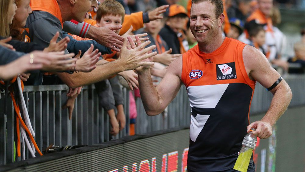 GWS Giants star Steve Johnson's car was allegedly stolen on Saturday. (AAP)