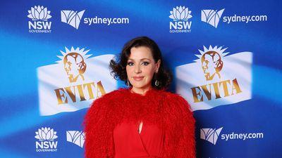 Aussie stars step out for Evita premiere