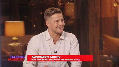 Talking Married: Mikey relives his 'uncomfortable' wedding photo shoot