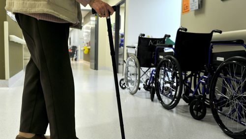 Nursing homes spend just $6 a day on food for their residents, new research has revealed. (AAP)