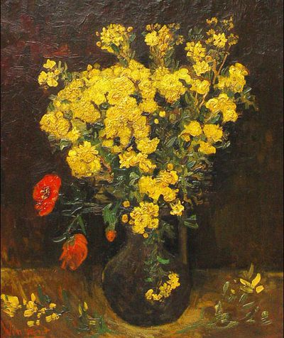 <strong><em>Poppy Flowers</em> by Vincent van Gogh</strong>