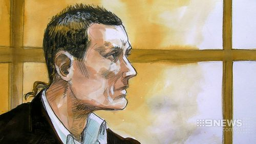 The 25-year-old Matthew Lehn will spend a minimum of eight years in jail. (9NEWS)