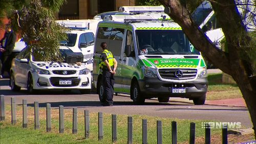 The alleged attacker was arrested at a park across the road from the home. (9NEWS)