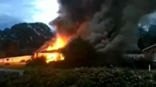 Police investigating reports of trespassers at Adelaide home devastated by fire