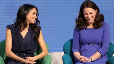 Kate and Meghan's friendship: Royal Foundation event, March 2018.