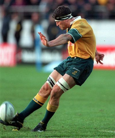 Wallabies captain John Eales won the match with a penalty goal on fulltime.