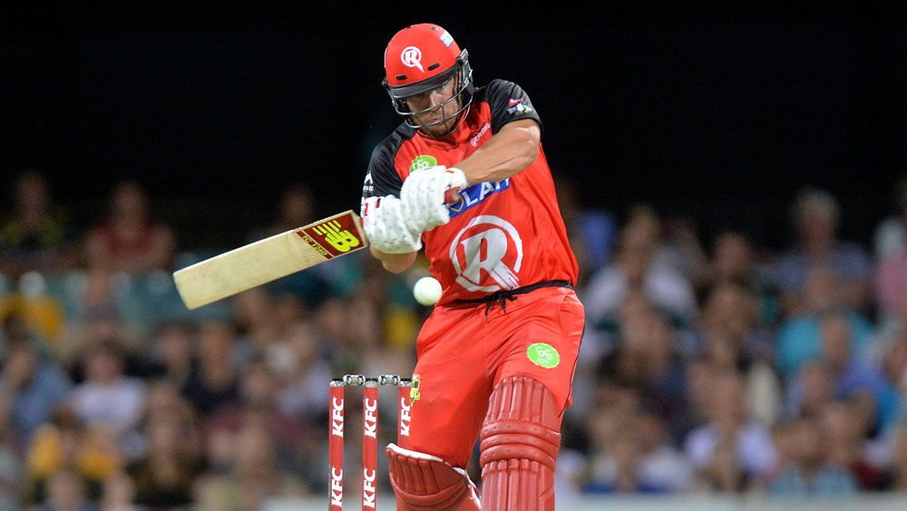 White hits Renegades to BBL win over Heat