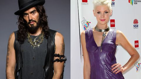 Revealed: Russell Brand's secret fling with Aussie TV presenter