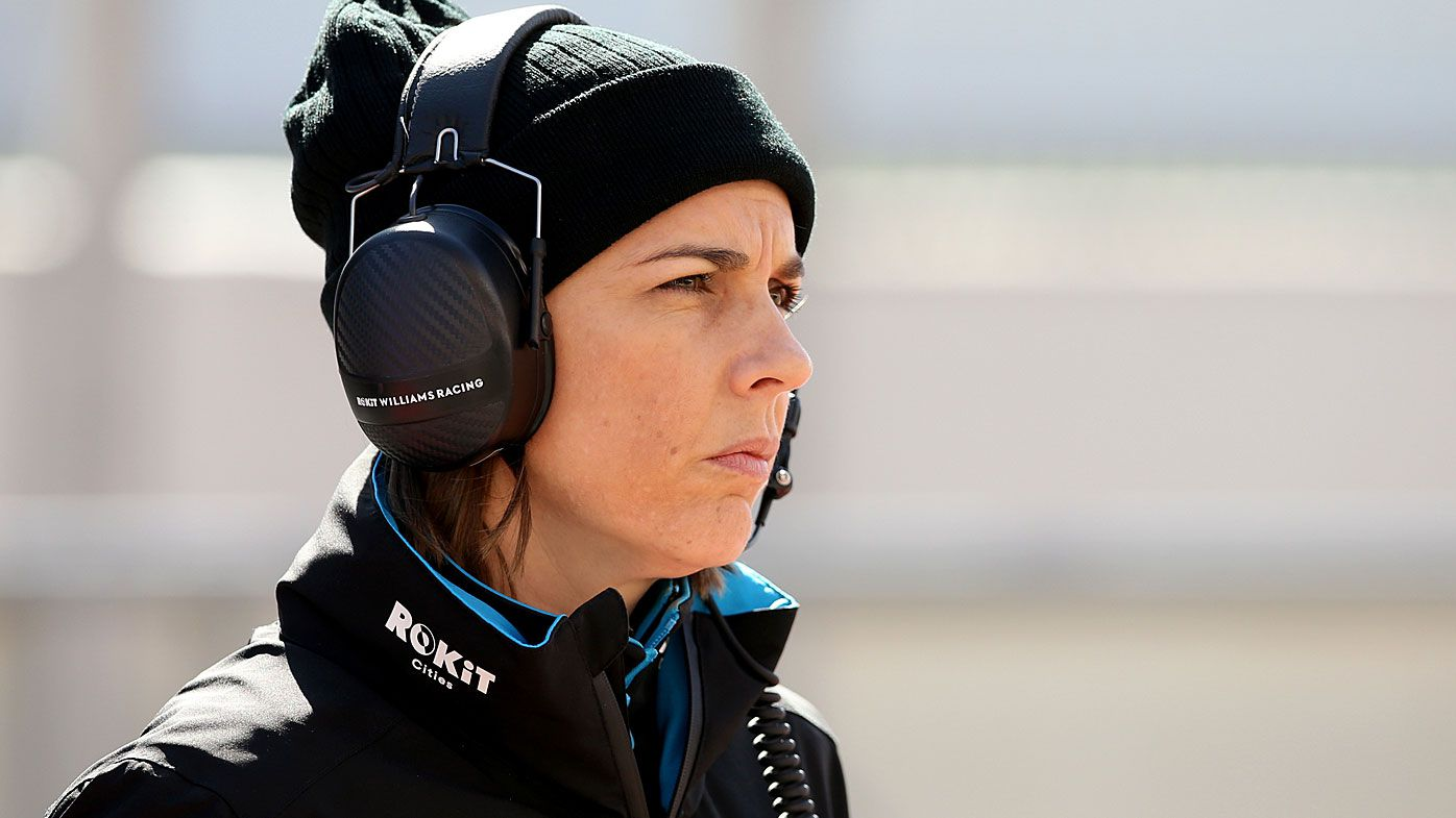 Female team boss Claire Williams reveals 'disgraceful' sexism in Formula One