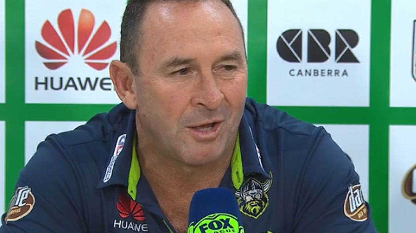 NRL hits back at Canberra Raiders coach Ricky Stuart's referee remarks