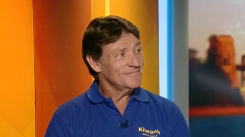 Rod Moore completed the challenge this week. (9NEWS)
