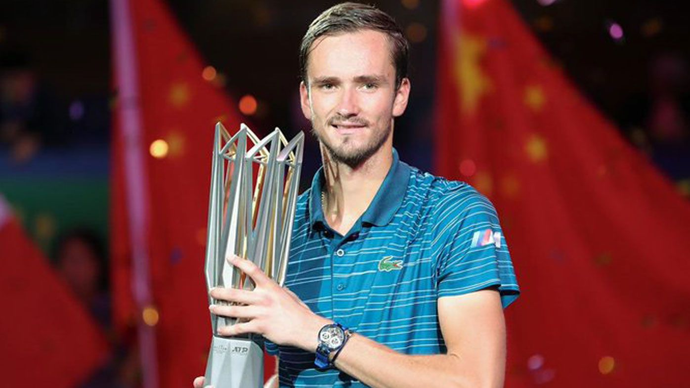 Medvedev wins Shanghai Masters decider for his third title in six events since July