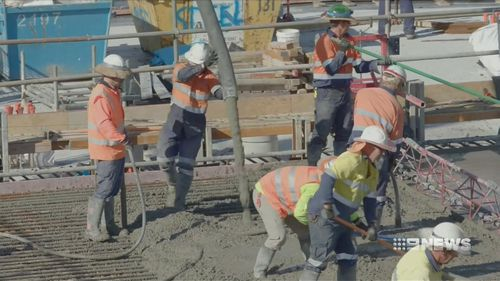 When the project is completed, Brisbane Airport will have doubled its capacity.