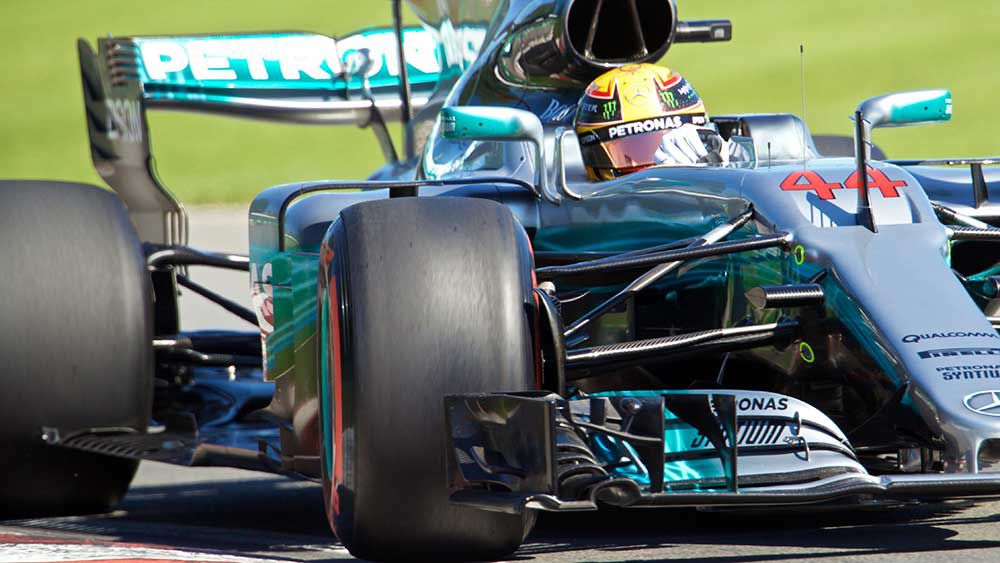 Lewis Hamilton has equalled the great Ayrton Senna in Canada. (AAP)