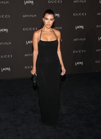 Kourtney Kardashian at the 2018 LACMA Art + Film Gala in Los Angeles, November, 2018