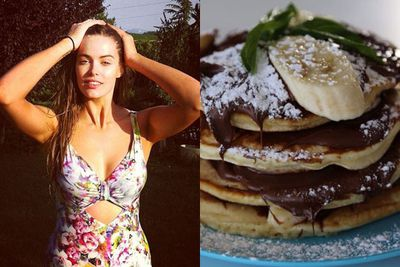 Robyn is a TOTAL foodie.<br/><br/>So much so, that she posts pics of yummy foods (like nutella and banana crepes) on her Instagram DAILY <br/><br/>*mouth waters*