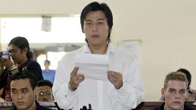 Si Yi Chen is a member of the Bali Nine who was sentenced to death before it was changed to life in prison. (AAP)
