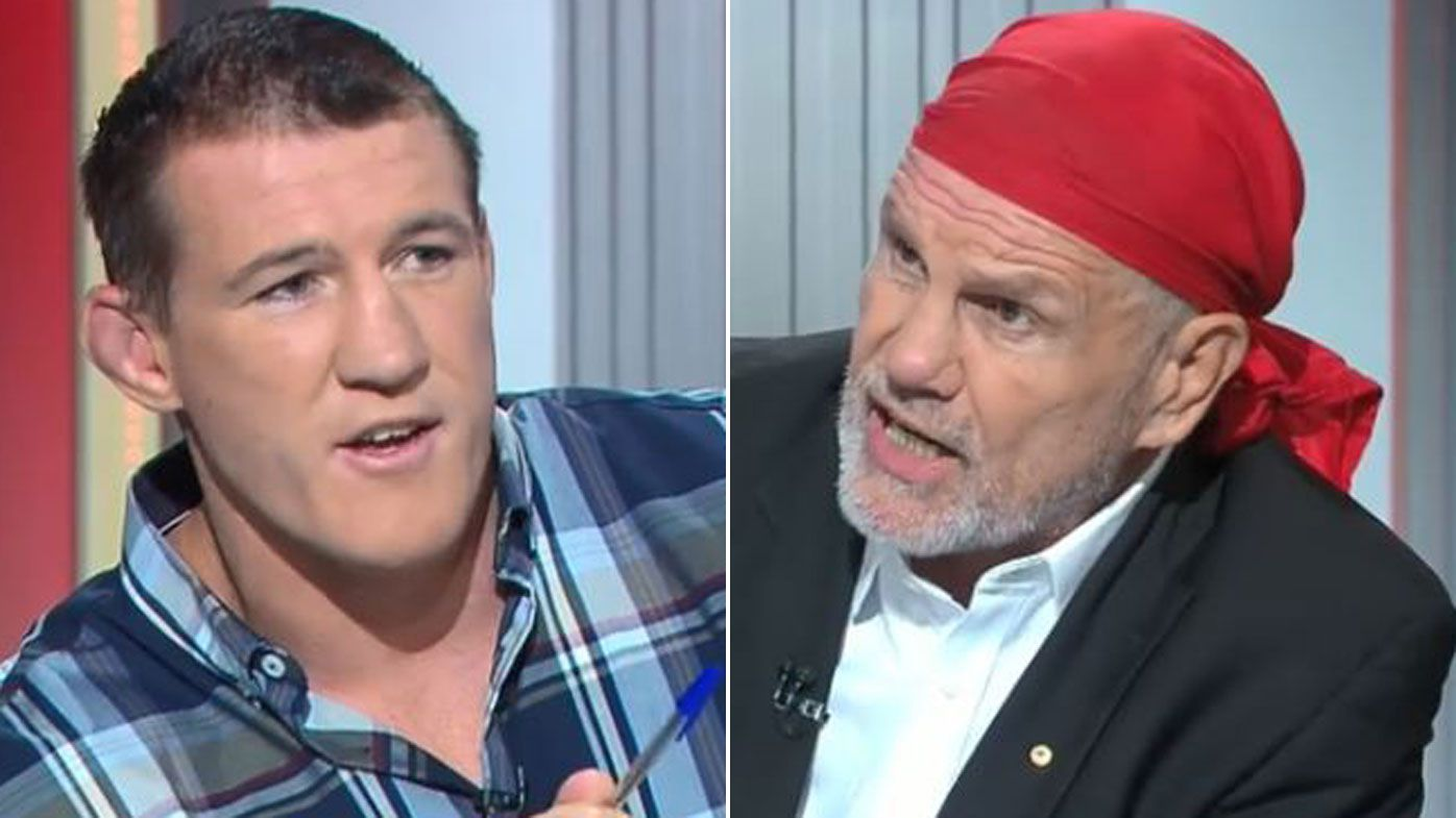 Paul Gallen fires up at Peter FitzSimons, question on NRL's treatment of women