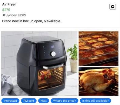 Air Fryer ad