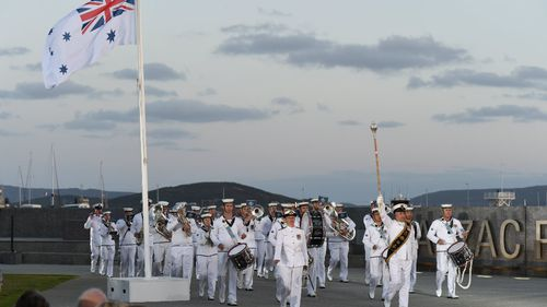 Ships re-create first Anzac convoy