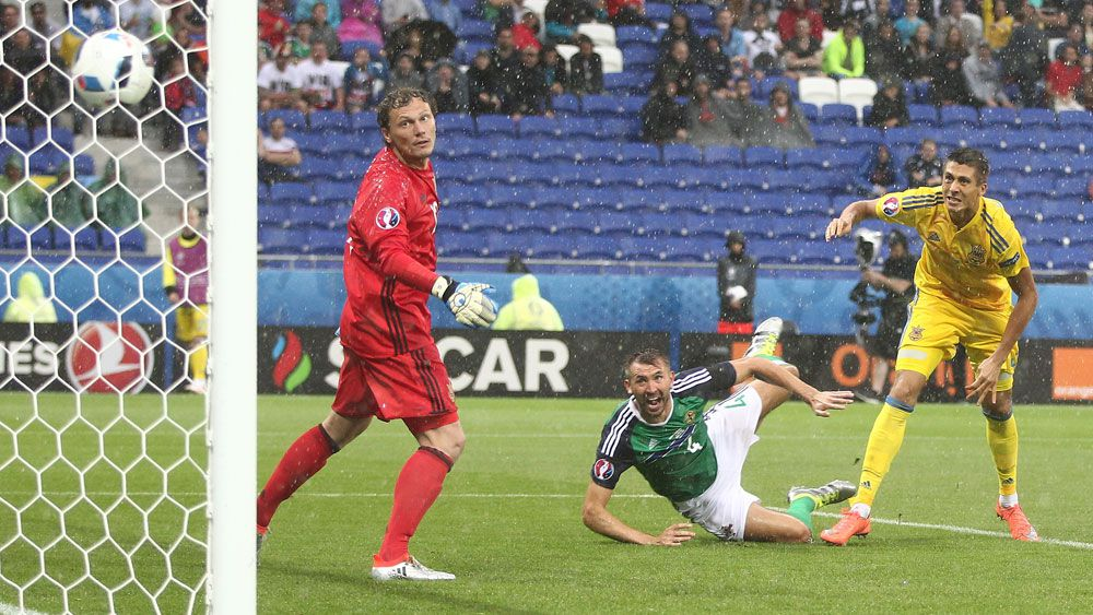 Northern Ireland sink Ukraine