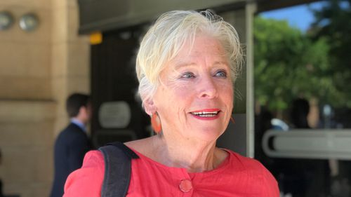 Maggie Beer appeared as a character witness at the District Court, in Adelaide on October 16. (AAP)