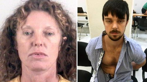 Ethan Couch (right) and mum Tonya after their arrest for fleeing authorities.