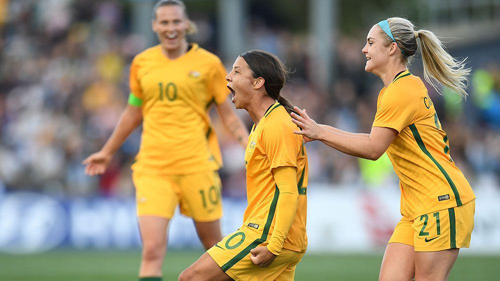 De Vanna, Kerr on target in Matildas win