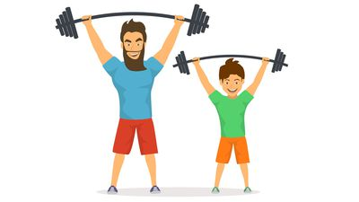 Get squatting, lunging and pressing to combat childhood obesity