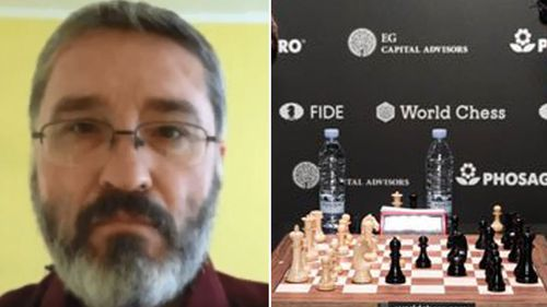 Chess player caught cheating with phone during tournament