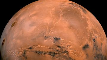 A NASA image of Mars. (AAP)