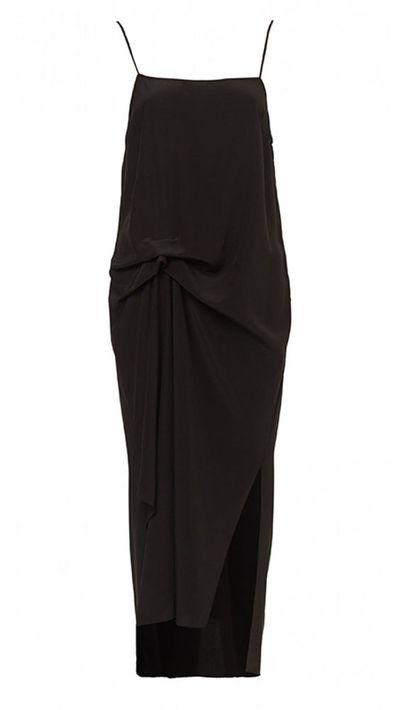 16. A slip dress