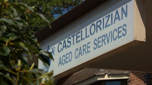 The 87-year-old was bathed with towels soaked in the searing solution for five straight days at Castellorizian Aged Care Services in July 2014.