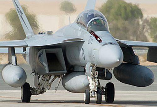 RAAF Super Hornet (AAP)