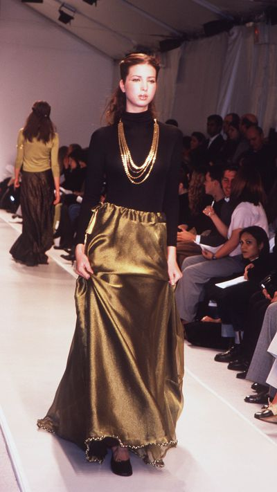 Ivanka Trump, Anand Jon autumn/winter '99, New York Fashion Week