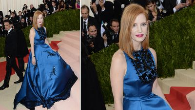 Actress Jessica Chastain. (AFP)