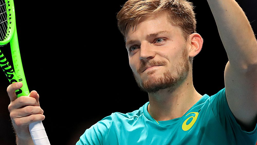 Tennis: David Goffin into semi-final against Roger Federer at ATP Tour Finals