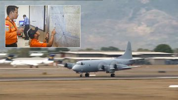 A RAAF Orion search and communications aircraft. (9NEWS)