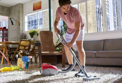 4. Vacuum once a week every week