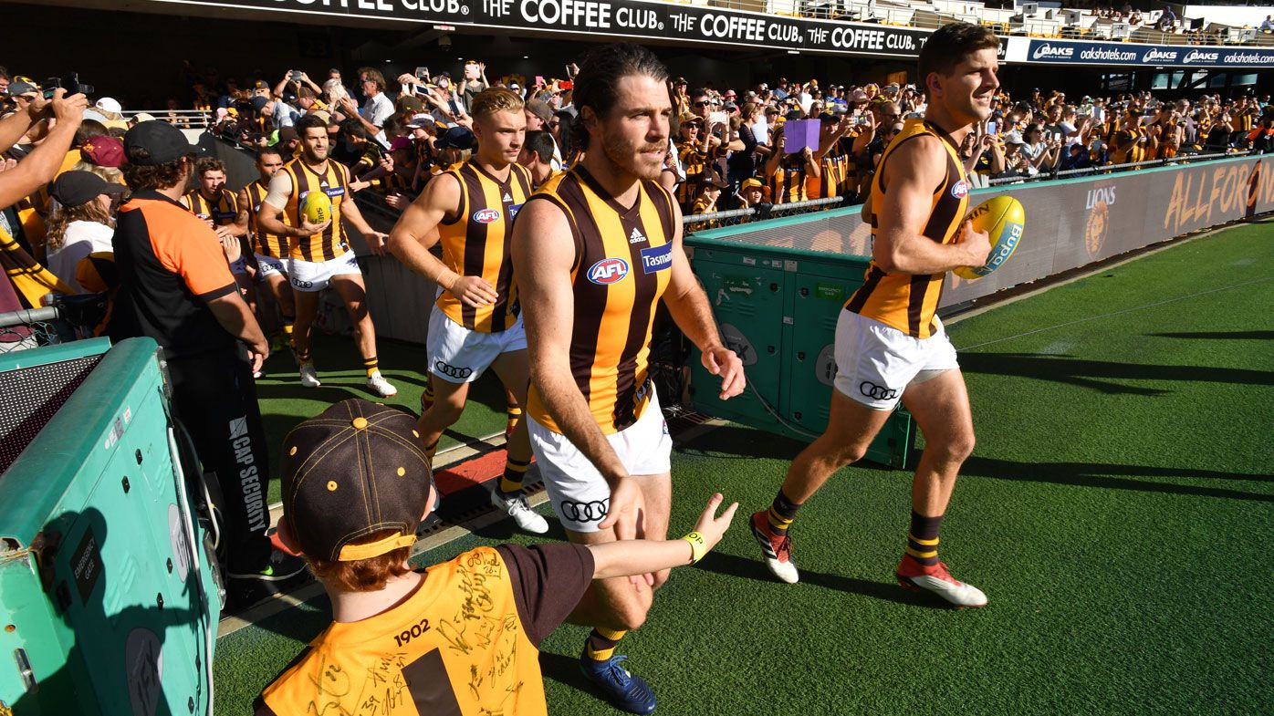 Hawthorn Hawks trial AFL rule changes in secret match at Etihad Stadium