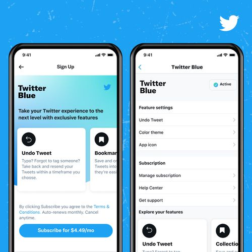 Twitter Blue will cost AU$4.49 a month, and is being tested in Australia and Canada.