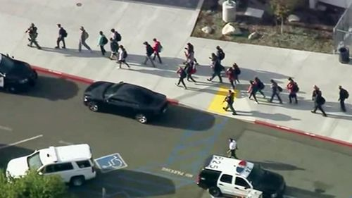 Students and staff were evacuated after the shooting.