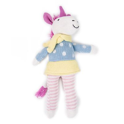 "<a href=""https://www.littlelinen.com/au/knit-toy-unicorn.html#.WNSFzFWGOUk"" target=""_blank"">Weegoamigo Unicorn Toy, $39.95.</a>"