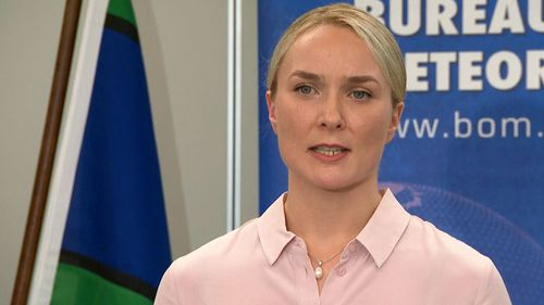 The BoM's Agata Imielska gave an update on the flood crisis today.