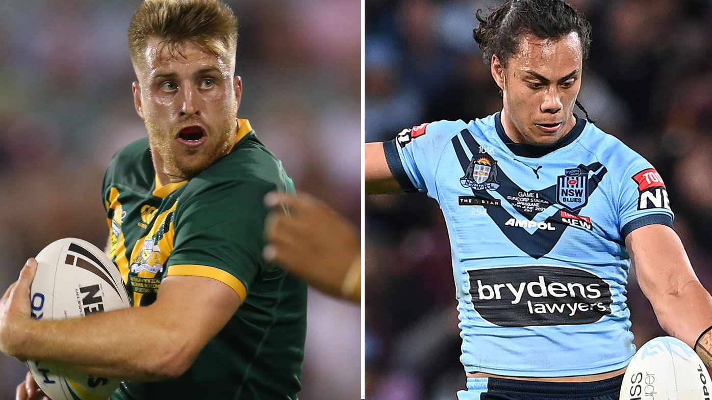 Munster's starting spot in the Kangaroos is under threat from Jarome Luai, Phil Gould says.
