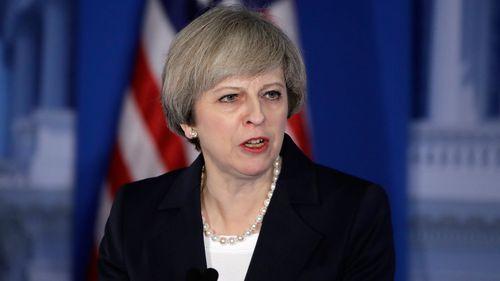 UK's May praises Trump's 'renewal'