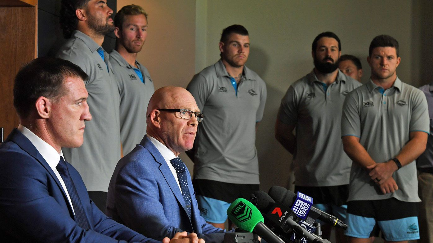 Cronulla Sharks defiantly confident of 2019 success despite financial troubles, no jersey sponsor