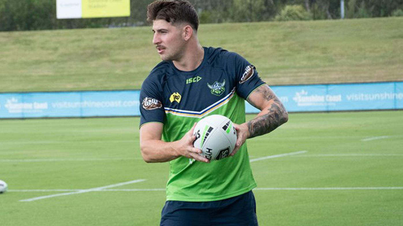 Scott picked to play in Raiders NRL trial