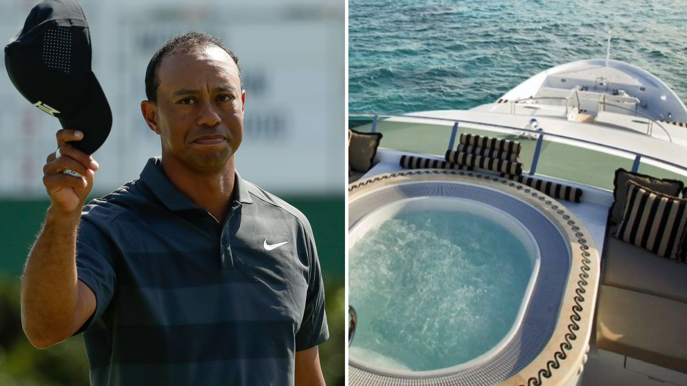 Tiger Woods' to stay on $26 million yacht to combat US Open traffic