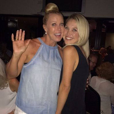 Lisa Curry poses in a photo with Jaimi Curry Kenny.
